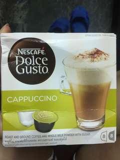 🚚 雀巢DOLCEGUSTO 卡布奇諾咖啡膠囊