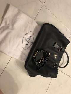 Prada preloved leather bag