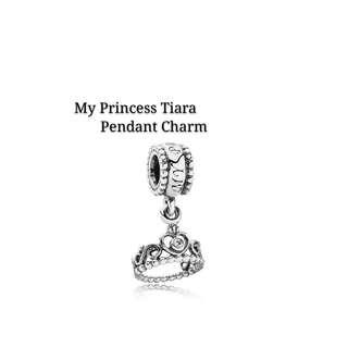 Bnis Pandora My Princess Tiara Pendant Charm