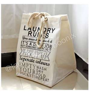 Laundry Bag Lipat SQR