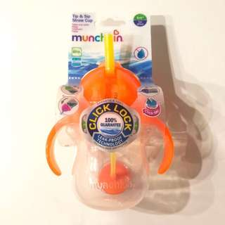Munchkin tip & sip straw cup