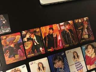 第34期 YES! Card - Wanna One 一套(五位成員)