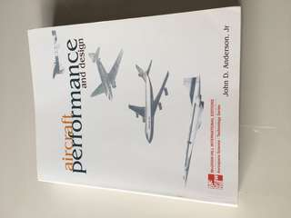 Good reference book for aerospace professionals, Aircraft Performance & design