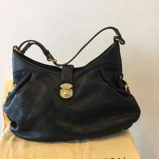 LOUIS VUITTON (leather) HANDBAG