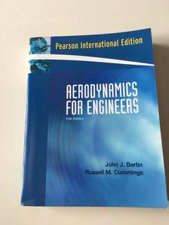 Aerospace professional reference book, aerodynamics for Engineers