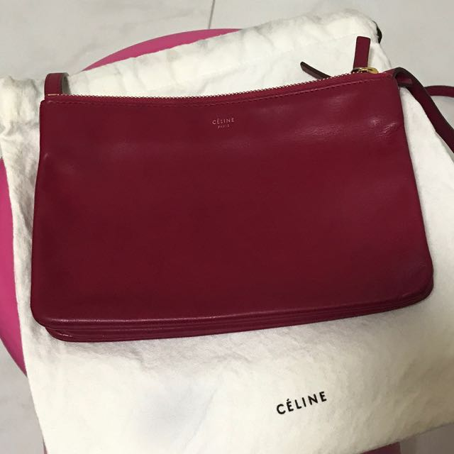 b29b6080c9 💯 Authentic CÉLINE SMALL TRIO CROSSBODY BAG