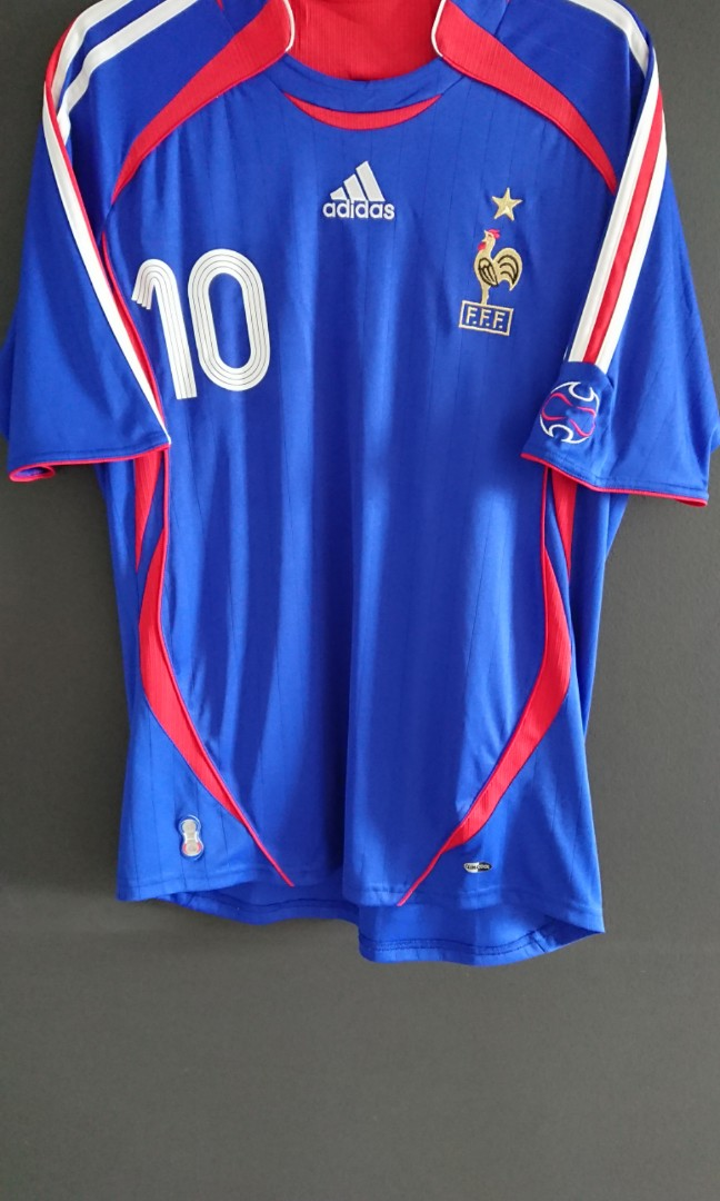 Adidas France 2006 Home Kit, Sports Equipment, Other Sports ...