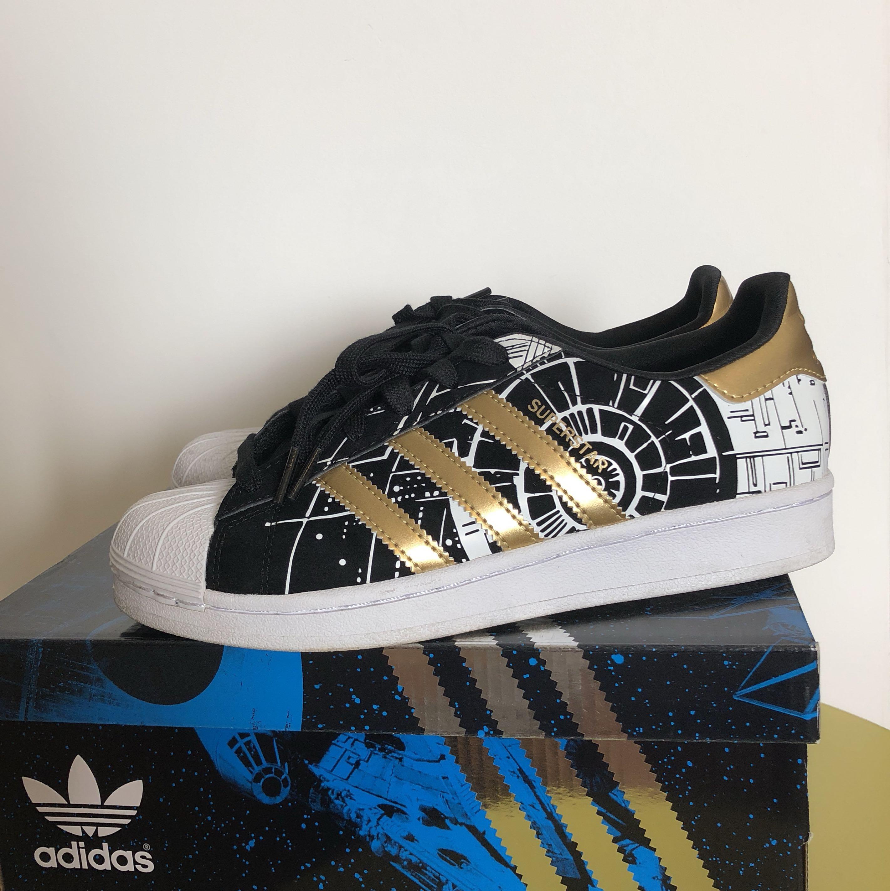 hot sales d45f9 fc6ed Adidas Originals Superstar x Star Wars, Men s Fashion, Footwear ...