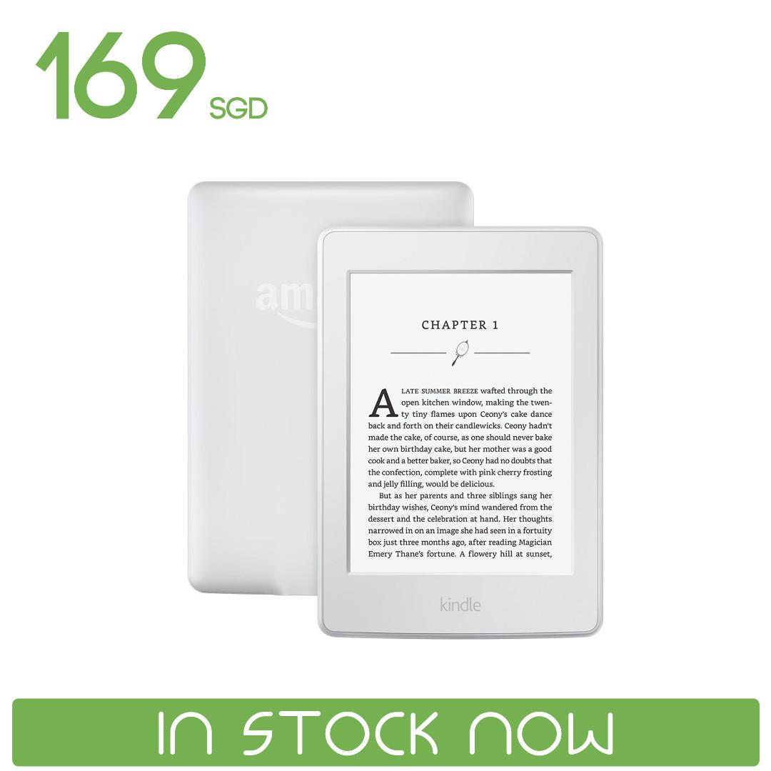 Amazon Kindle Paperwhite (White)