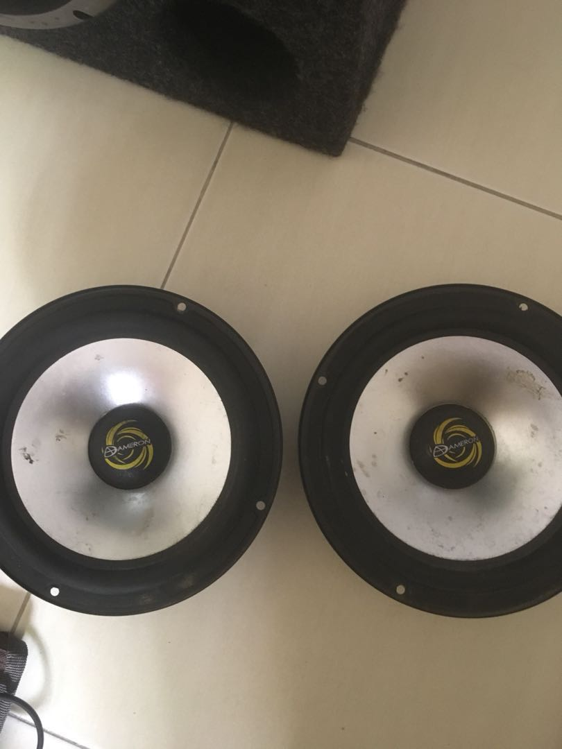 Ameron Speakertweetersubwoofer And Wiring Electronics Audio On Subwoofer Speakers Carousell