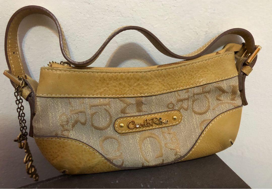 641c52999572 Carlo Rino original leather handbag