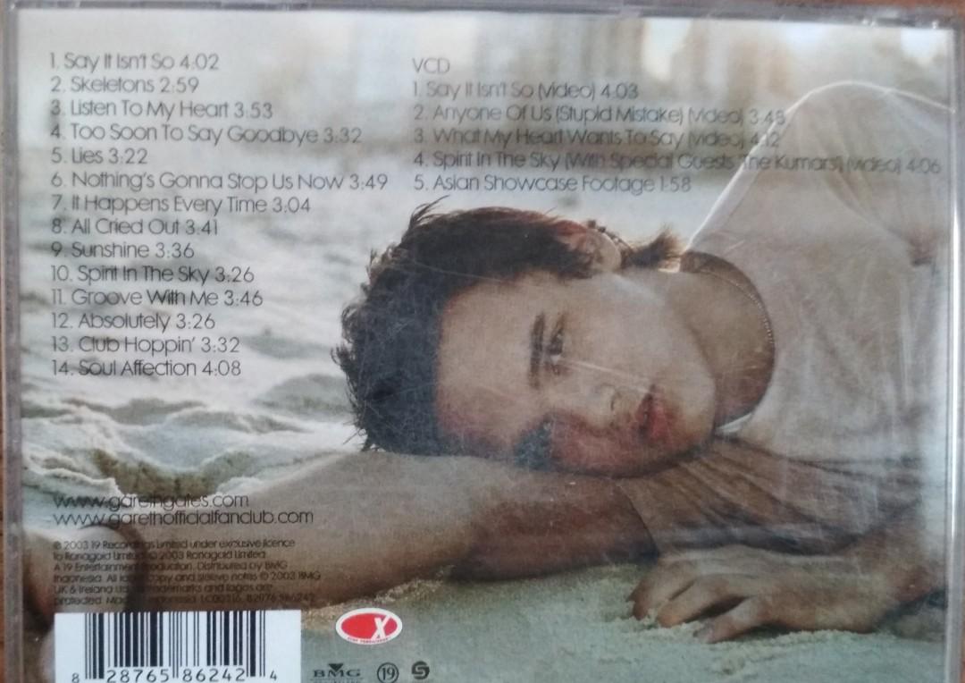 CD Gareth Gates Album Go Your Own