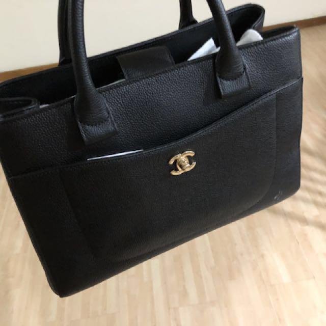0f88e06ae31a Chanel Neo Executive Tote, Luxury, Bags & Wallets on Carousell