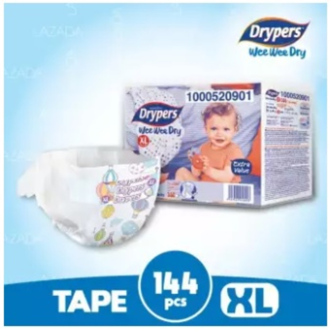 53e5a48c59e4 Drypers Wee Wee Dry XL36 (4 pack)