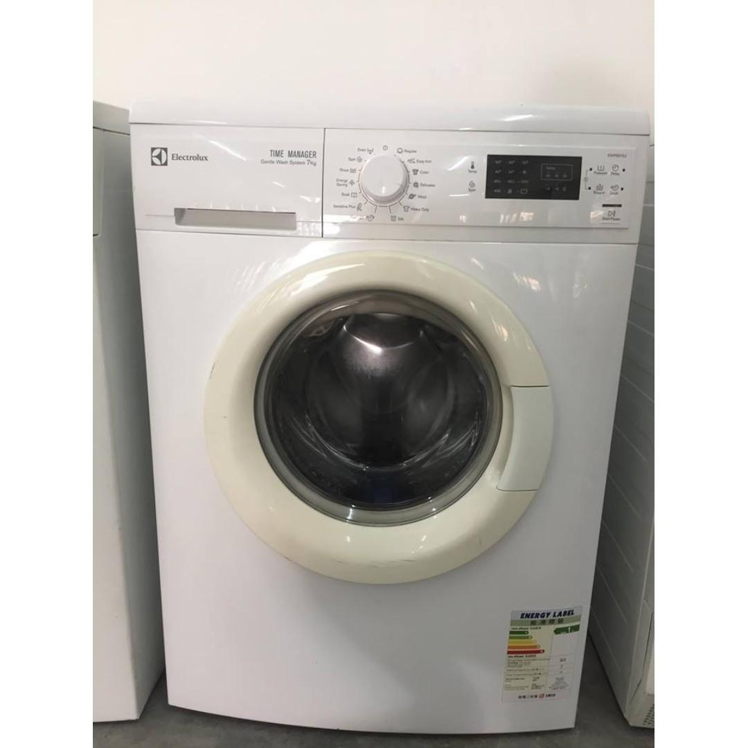 0d1b1ebb948bdb Electrolux 7kg Front Load Washer Washing Machine Mesin Basuh, Kitchen    Appliances on Carousell