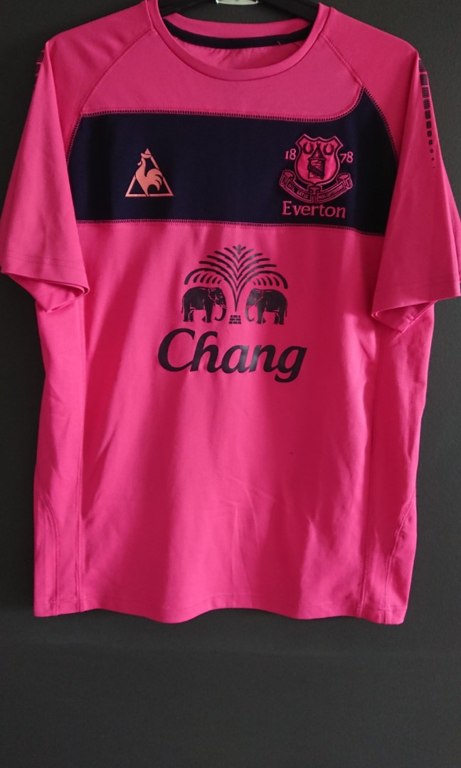 low priced 33224 32c6f Everton Away 2010/11 Kit, Sports, Sports Apparel on Carousell