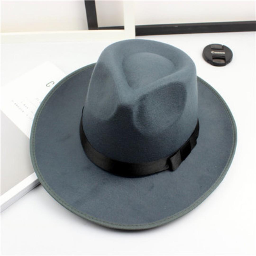 ec21f3e12 Mens Wide Brim Bowler Hat