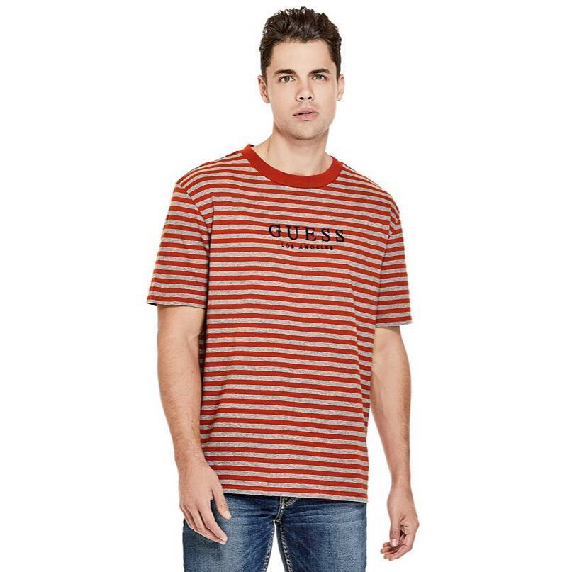 aab3af260ddb GUESS Originals Robertson Stripe Tee, Men's Fashion, Clothes on ...