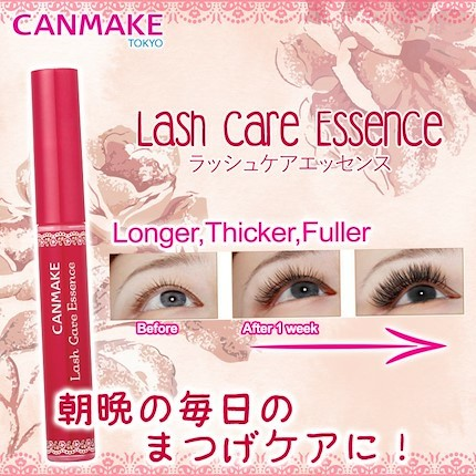 cc90cf800d9 Japan's No. 1 hot selling CANMAKE Lash Care Essence, Health & Beauty,  Makeup on Carousell