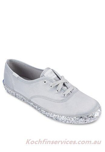 0c34f12703c3 KEDS glitter shoes (grey), Women's Fashion, Shoes on Carousell