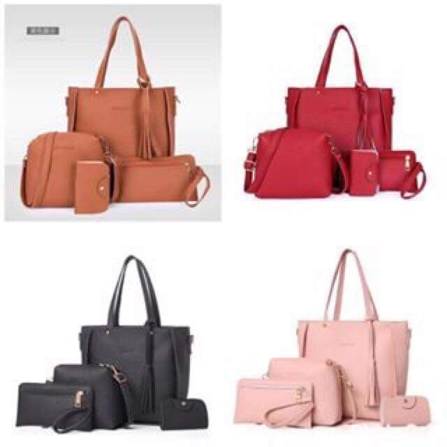 d7d875760c2 MAY 18 4 IN 1 KOREAN BAG SET (IN), Women s Fashion, Bags   Wallets on  Carousell