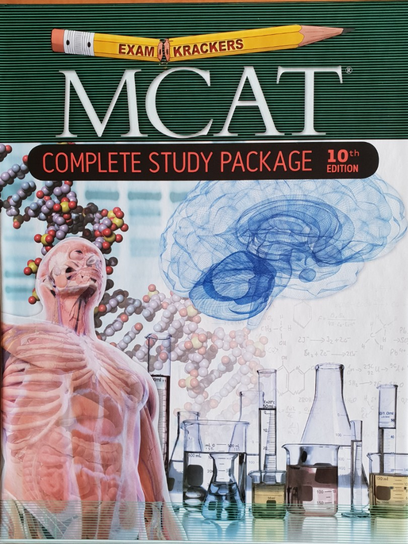 MCAT Complete Study Package 10th Edition
