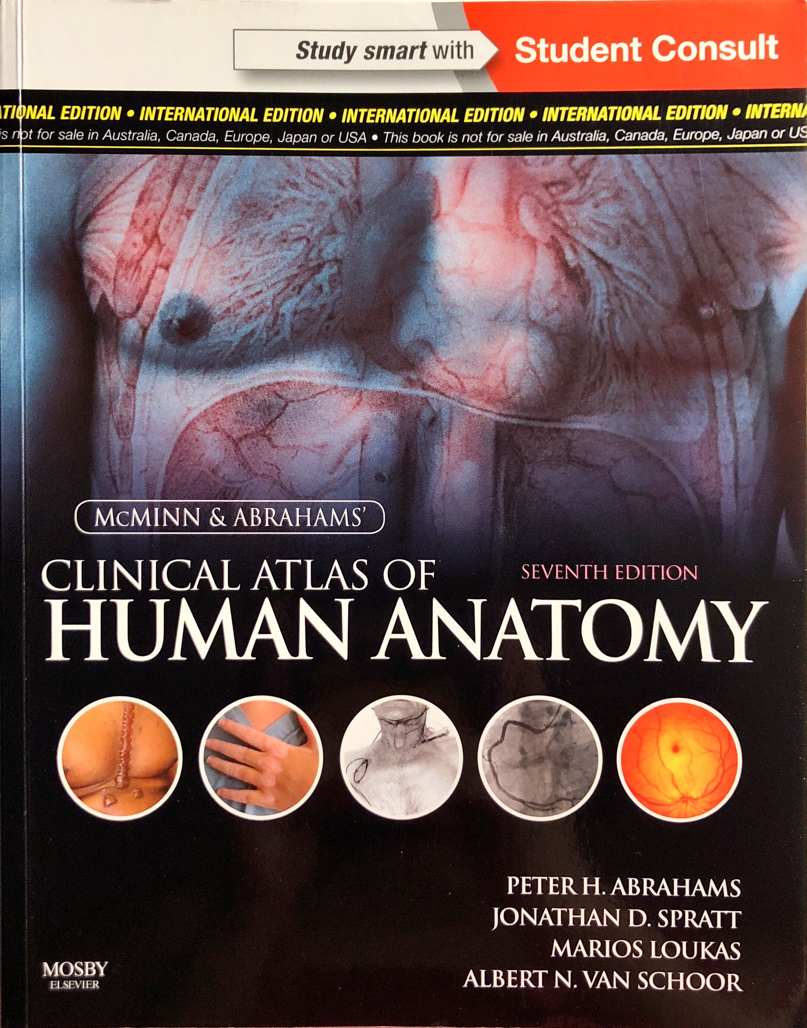 Mcminn Clinical Atlas Of Human Anatomy Books Stationery