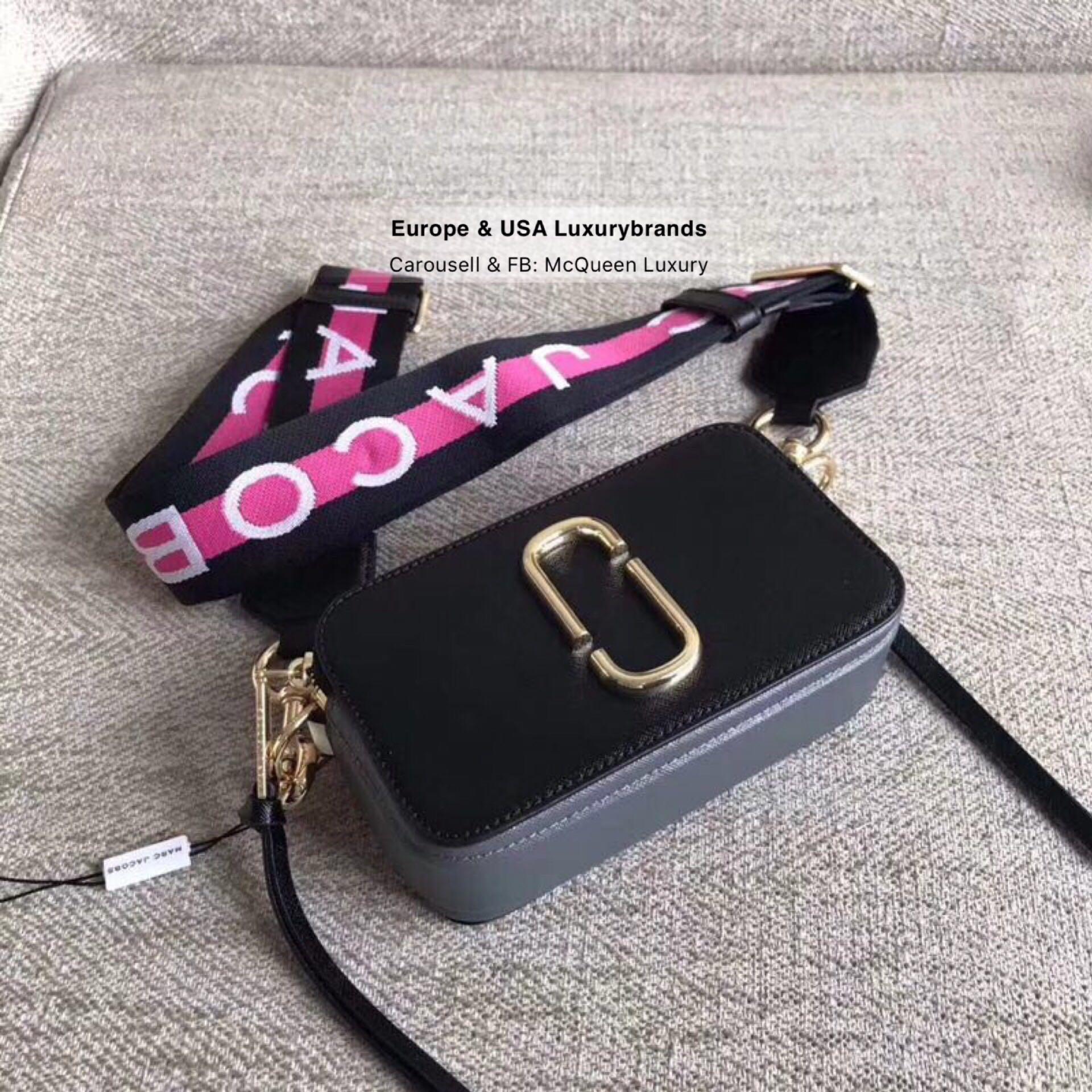 004a2de0e731 MJ Logo Strap Snapshot Small Camera Bag