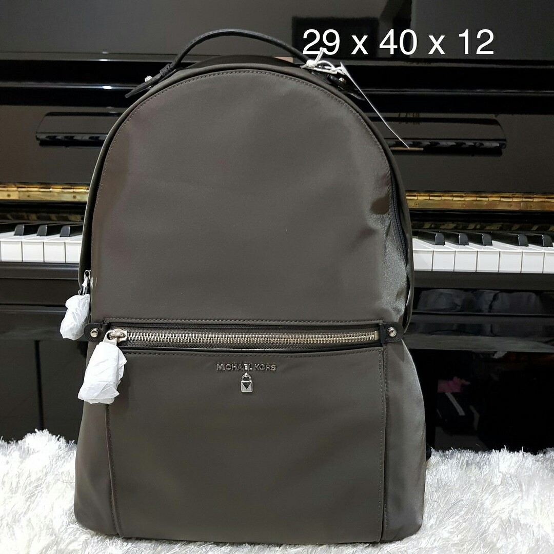 bd25051263f7 MK kelsey backpack graphite, Luxury, Bags & Wallets on Carousell