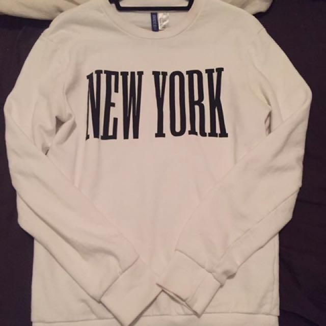 New York sweater h &m