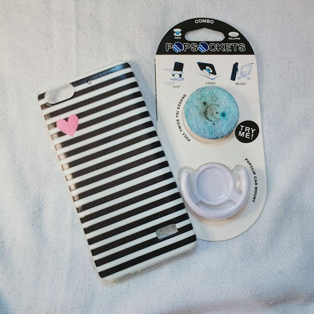 new product 13692 454cd PHONE CASE AND POPSOCKET BUNDLE on Carousell