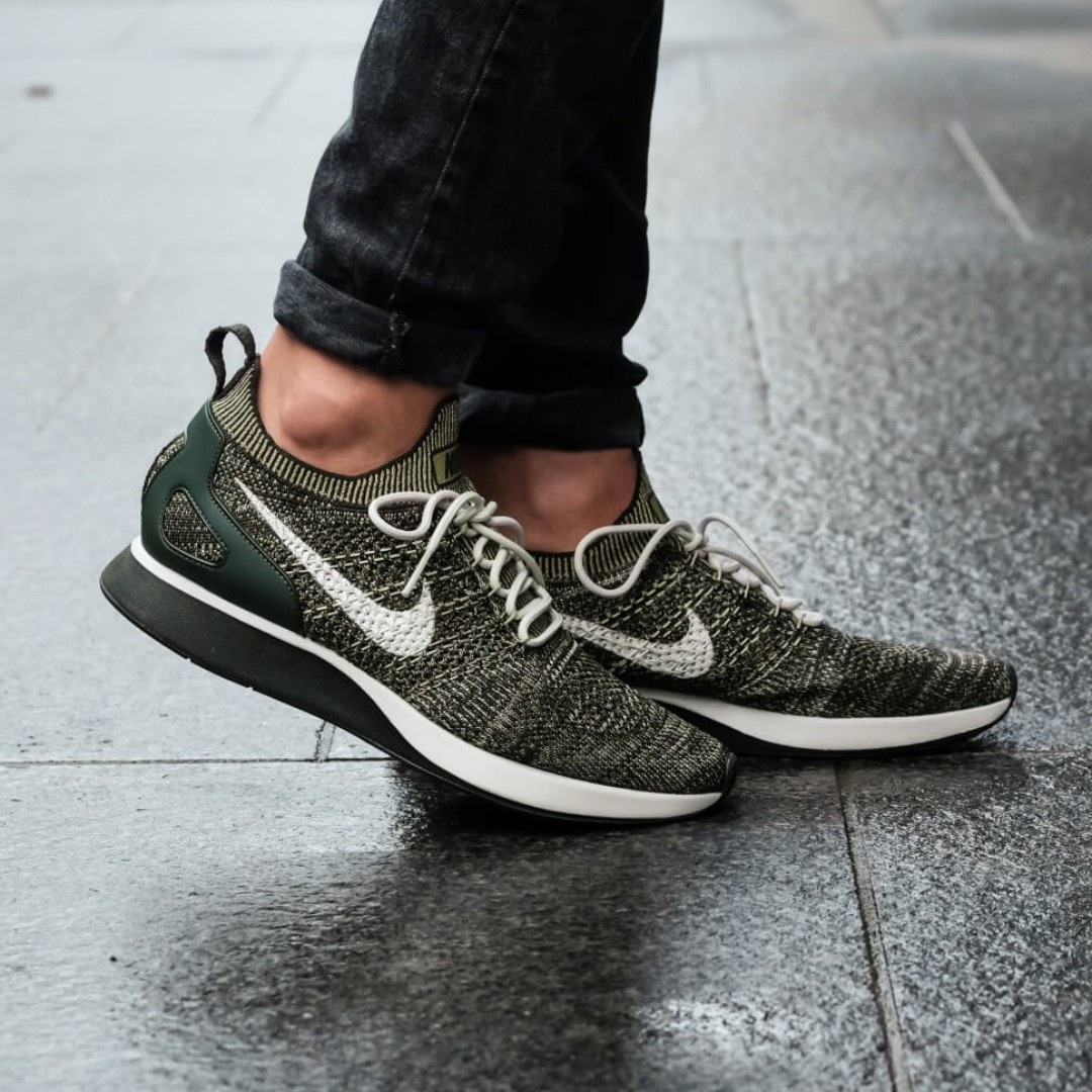 c46418a7f08a PO) Nike Mens Air Zoom Flyknit Mariah Olive