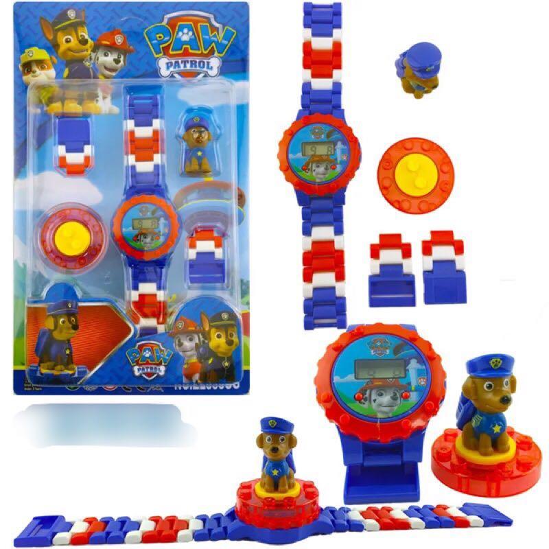 PO Paw Patrol Lego Watch c2dd3351dd