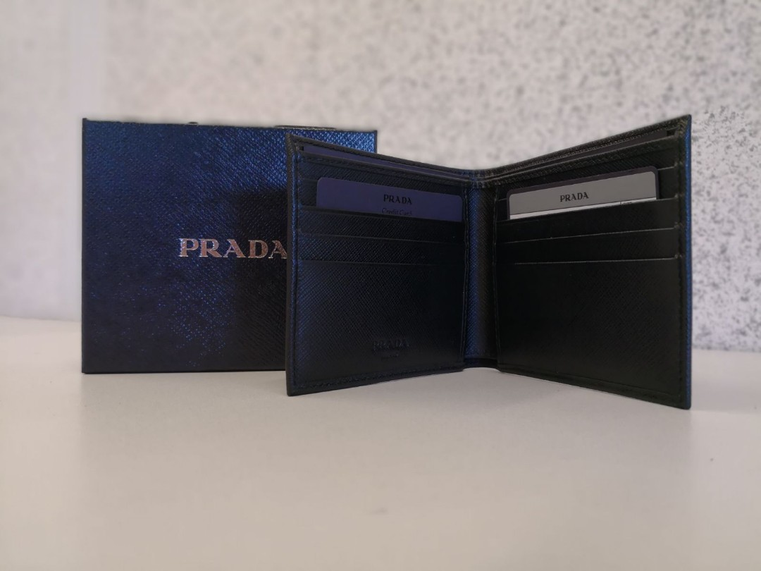 3847c041cbb6 ... norway flash sale 390 till 6pm today prada mens wallet mens fashion  bags wallets on carousell