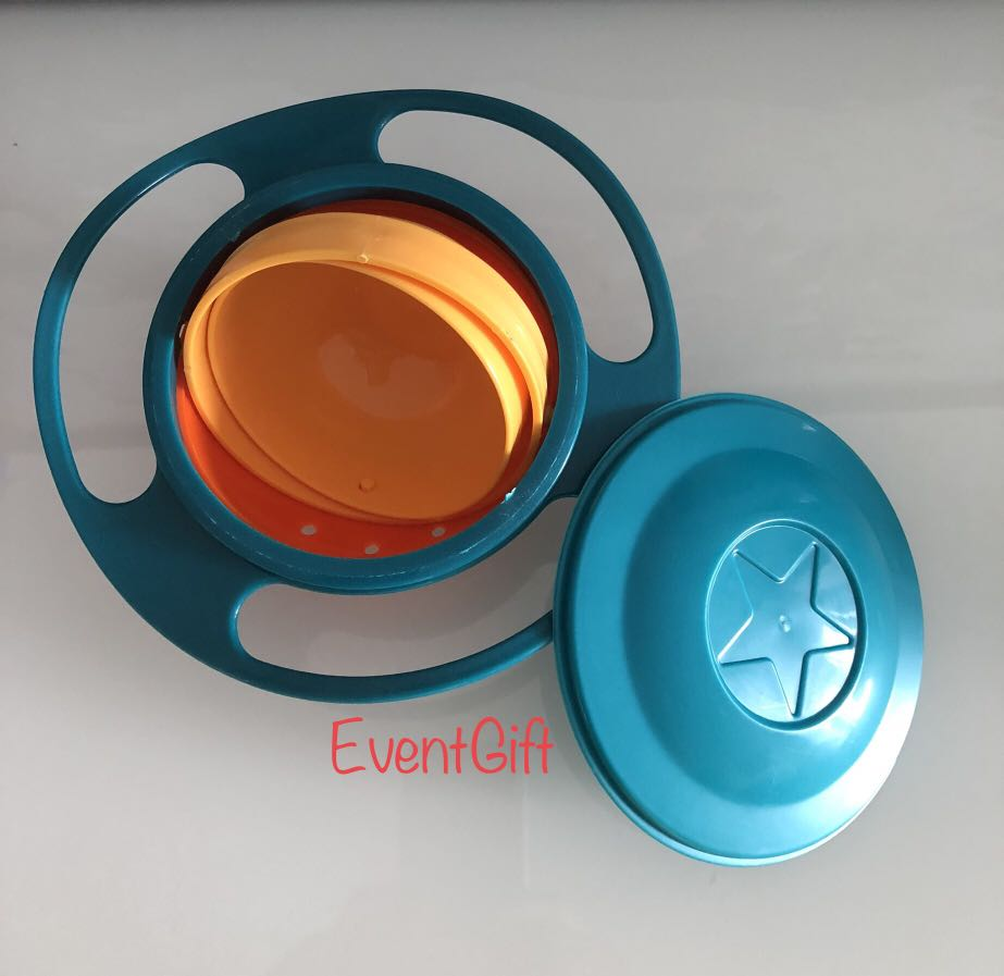 Rotation Non Spill Bowl For Toddlers Goody Bags Cheap Birthday