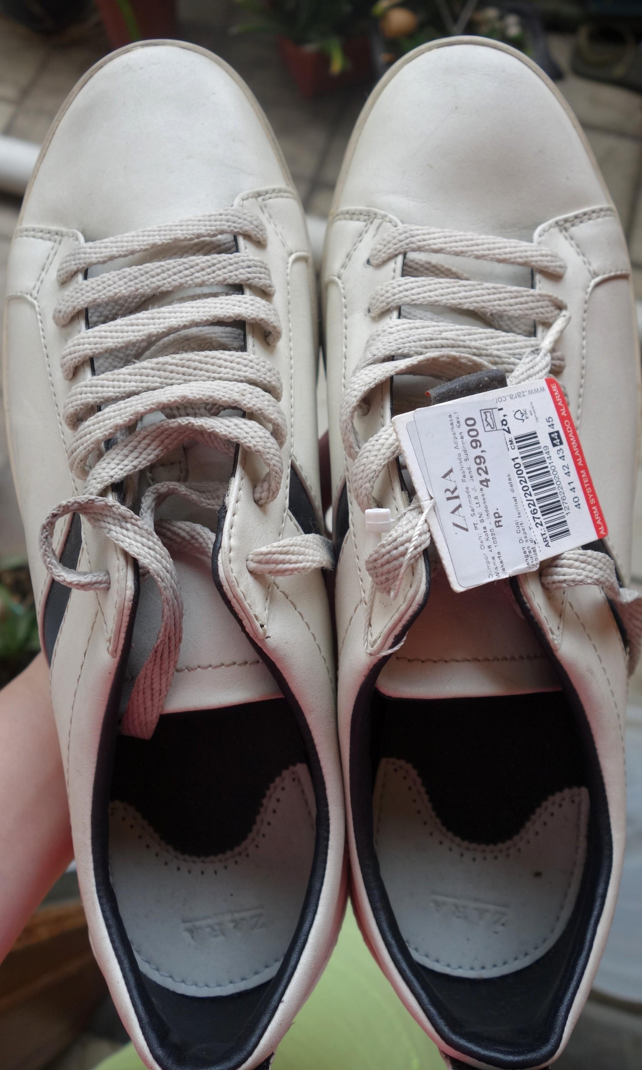 Sepatu Zara Cowo (Putih) 0ca732dc29