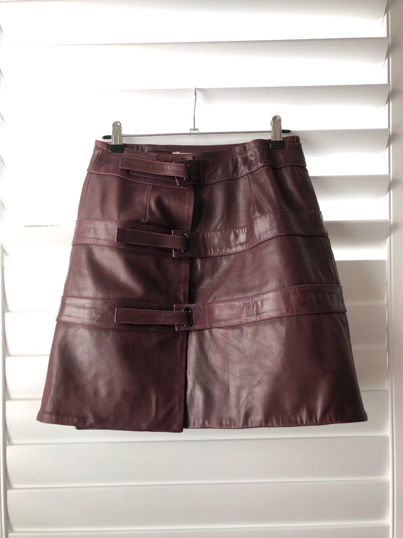Shakuhachi leather skirt