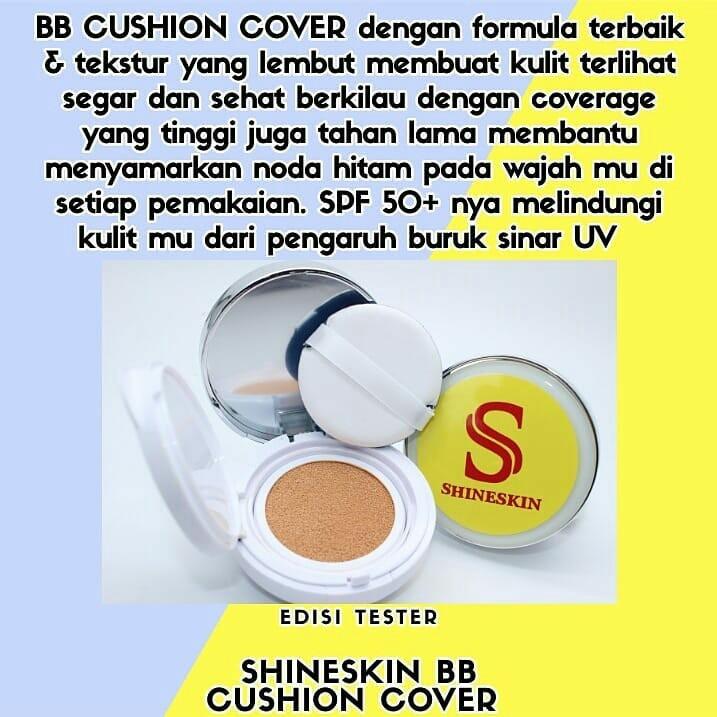 Shineskin BB Cushion 3 Varian warna, Health & Beauty, Makeup on Carousell