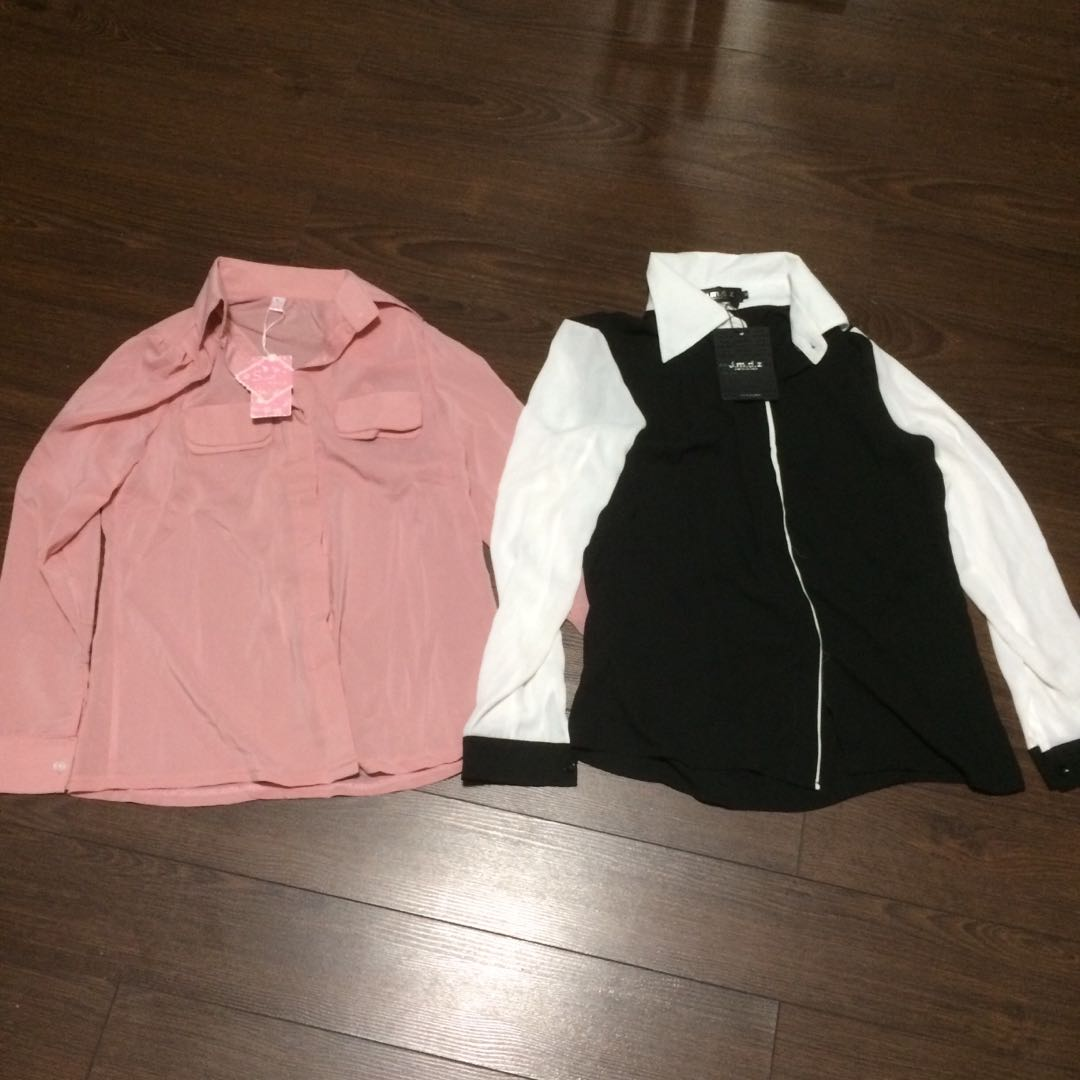 Two for $5 long sleeve tops