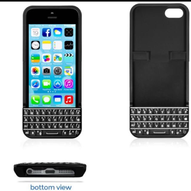 the best attitude be82e 8d072 Typo Bluetooth Keyboard For iPhone 5/5s/SE on Carousell