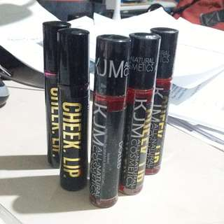 Original KJM liptints