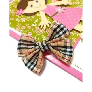 (現貨中InStock) 手作蝴蝶結兒童頭飾 Handmade Hair Bow Clip For Kids