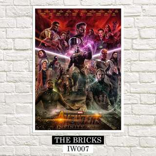 The Avengers Infinity War Marvel Poster