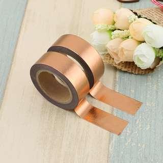 Copper Foil QC100209 Washi Tape 15mm x 10m