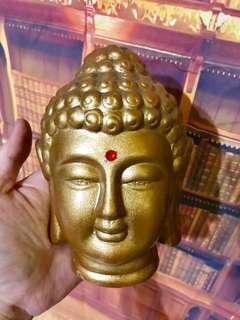 Gold Buddha Head