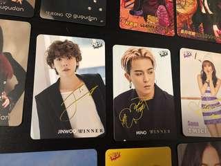 第34期 YES! Card - Winner 閃卡成員兩張