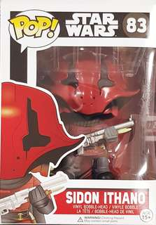Funko Pop Star Wars Sidon Ithano #83