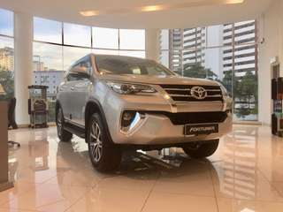 Clearance Sales Toyota Fortuner 2.7