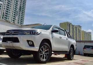 Clearance Sales Toyota Hilux 2.8