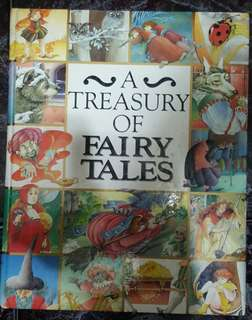 A Treasury of Fairy Tales story book